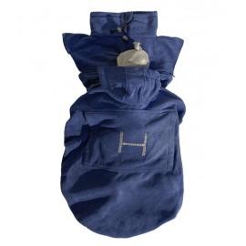 """Cobertor """"Basic"""" Hoppediz Azul"""