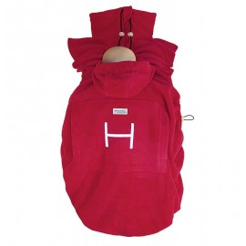 "Cobertor ""Basic"" Hoppediz Rojo"