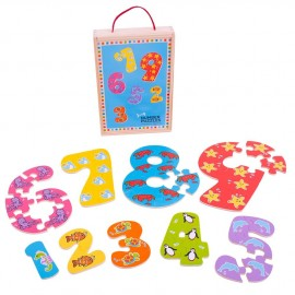 Puzzle números 1-9