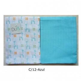 Set Muselinas (2 Piezas) 90X75 cm. 5276