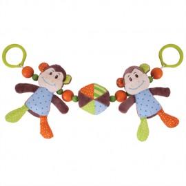 Mono Descarado Sonajero para cochecito