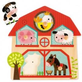 Encajable musical Los compañeros de la granja