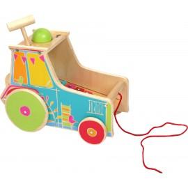 Juguete de motricidad Tractor, con xilófono