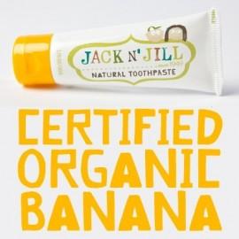 Pasta de dientes Jack n' Jill Plátano