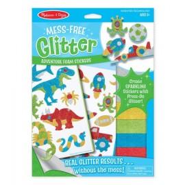 Glitter adhesivos foam Aventura, Melissa & Doug