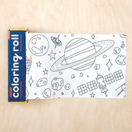 Mini rollo para colorear Espacio exterior, Mudpuppy