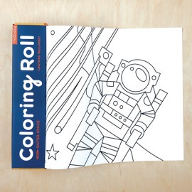 Rollo para colorear Espacio exterior, Mudpuppy