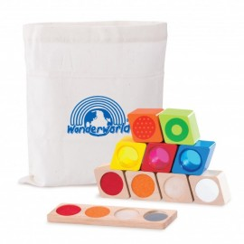 Bloques sensoriales - Wonder Sensory Blocks, Wonderworld