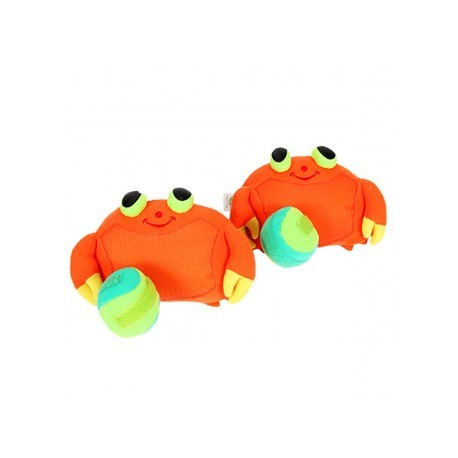 Juego atrapa pelotas con velcro cangrejo, EurekaKids