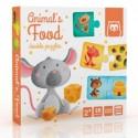 Puzzle animal's food, EurekaKids