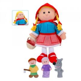 Set de marionetas Caperucita roja, Fiesta