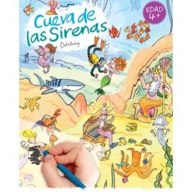 Calca con Scribble Down, El mundo de las sirenas