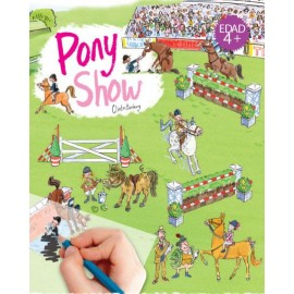Calca con Scribble Down, Pony show