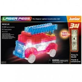 Camión de bomberos 3 en 1 junior 25 piezas, Laser Pegs
