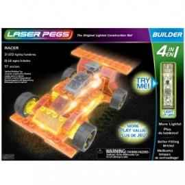 Coche racer 4 en 1 57 piezas, Laser Pegs