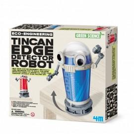 Tin Can Edge Detector Robot ROBOTICA