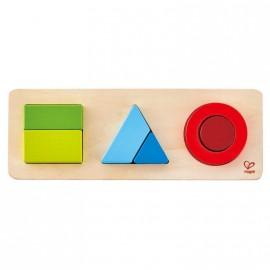 Puzzle infantil geométrico Hape