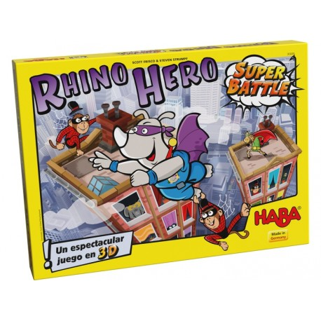 Rhino Hero – Super Battle, Haba