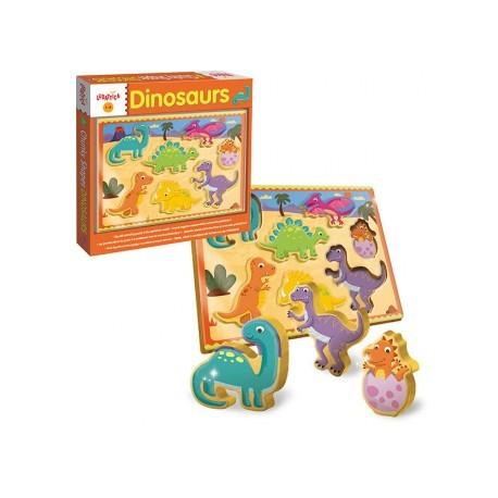 Encajable dinosaurios, Ludattica