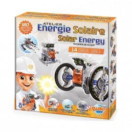 Energía solar 14 en 1, Buki France
