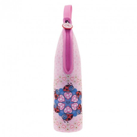 Termo líquidos 0,5L Mariquitas rosa, Katuki Saguyaki