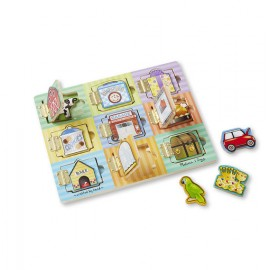 Tablero del escondite, Melissa & Doug