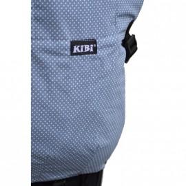 Mochila ergonómica Kibi Gris azulada