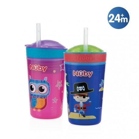 Taza para bebidas y snacks - 270ml - 24m+, Nûby