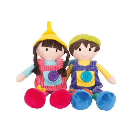 Muñecos de tela Noah y Emma, Small Foot