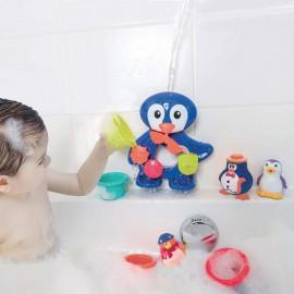 Juego de baño Pingüino, Ludi