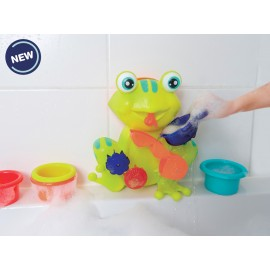 Juego de baño Ranita, Ludi