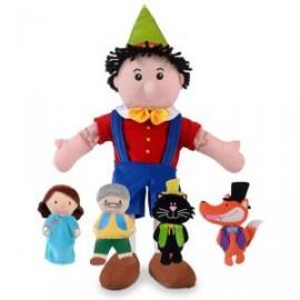 Set de marionetas Pinocho, Fiesta