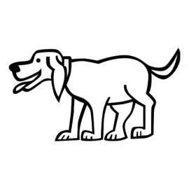 Perro 3, Pegatinas de familia