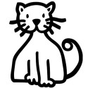 Gato, Pegatinas de familia