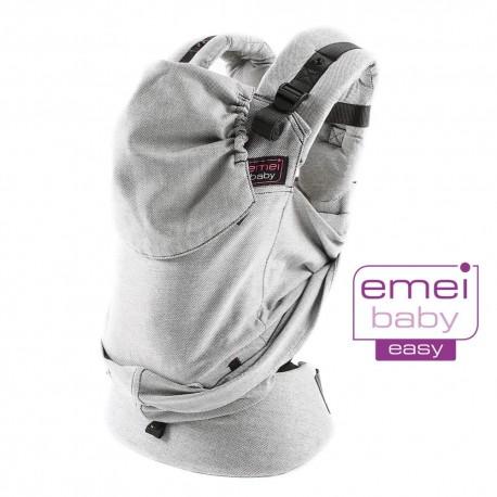 Mochila ergonómica Emeibaby Easy Gris completa