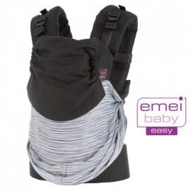 Mochila ergonómica Emeibaby Easy Gris degradado