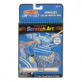 Scratch Art Vehículos, Melissa & Doug