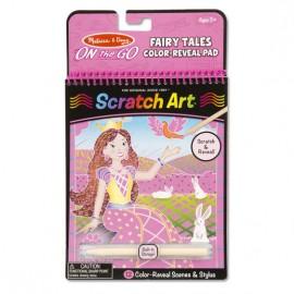 Scratch Art Cuentos de Hadas, Melissa & Doug