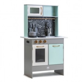 Cocina Retro green play kitchen, Eurekakids