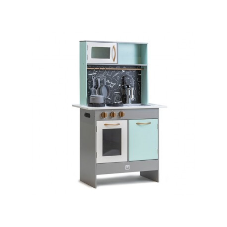 Cocina Retro green play kitchen, Eurekakids