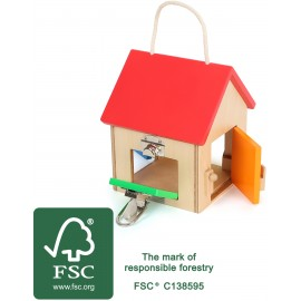 Casa de cerraduras compacta, SmallFoot