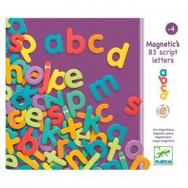 Letras minúsculas magnéticas. Djeco
