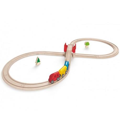 Circuito de tren Vías en 8 - Figure Eight, Hape
