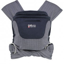 Mochila fular Caboo Carrier algodón Organic Twilight, Close Parent