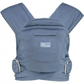 Mochila fular Caboo Carrier algodón Stonewash, Close Parent