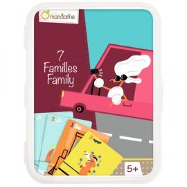 Cartas 7 Familias, Medios de transporte