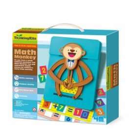 ThinkingKits Math Monkey - Mono Matemático, 4M