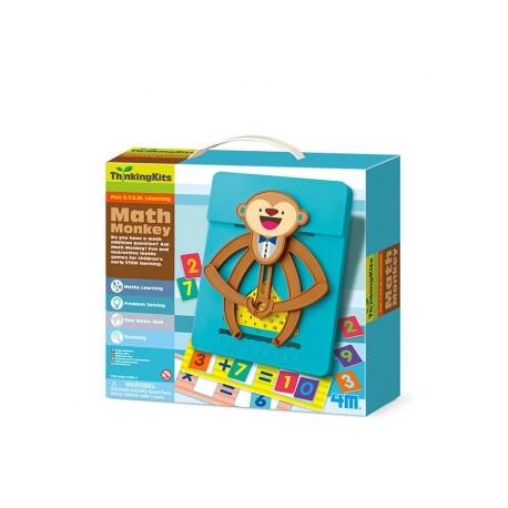 ThinkingKits Math Monkey - Mono Matemático, 4M