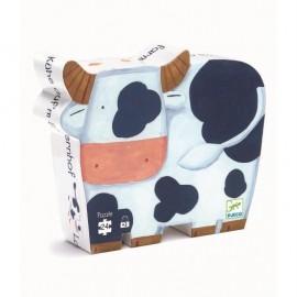 Puzzle silueta Las Vacas 24 pzs., Djeco
