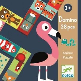 Dominó puzzle Animales, Djeco